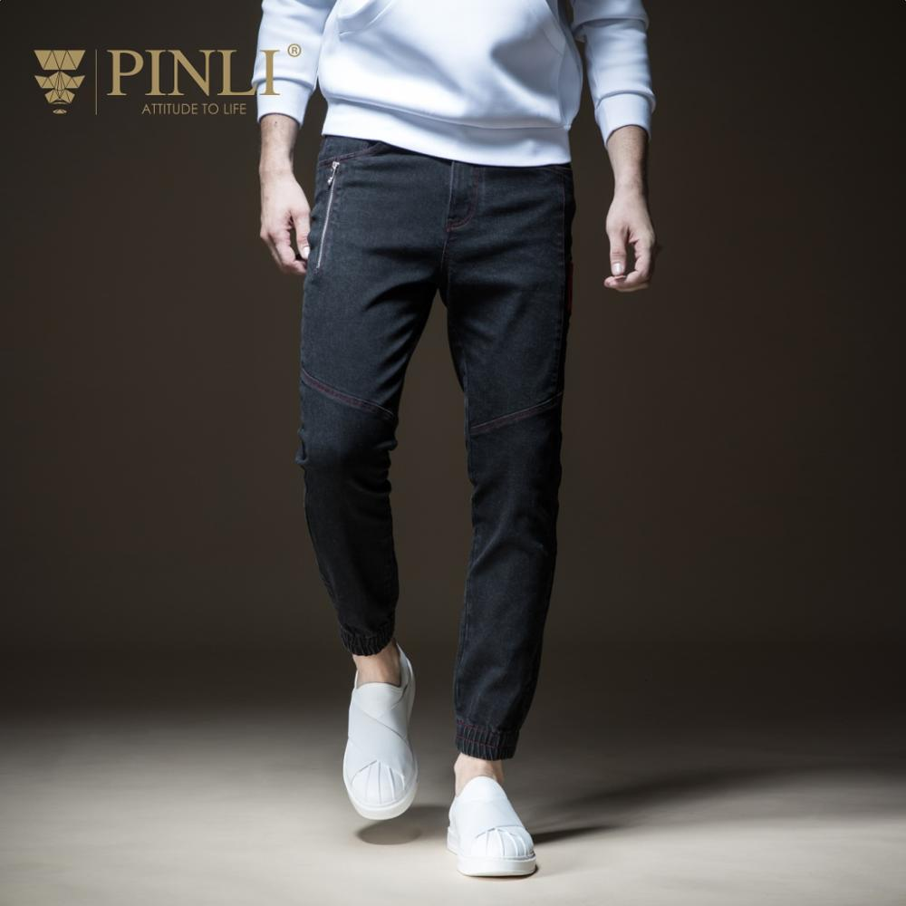 Fake Designer Clothes Clothes Pinli Product Made The New Autumn Foot Trousers Mens Jeans Bunch Of Cultivate Morality B183616411