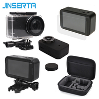 5 In 1 Camera Bag Set Waterproof Housing Plastic Frames Soft Silicone Cover EVA Storage Bag