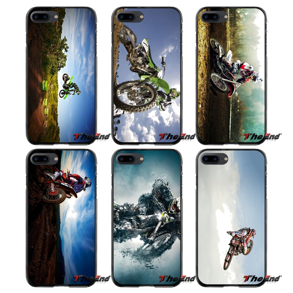 Accessories Phone Cases Covers Motocross Sport For Apple iPhone 4 4S 5 5S 5C SE 6 6S 7 8 Plus X iPod Touch 4 5 6