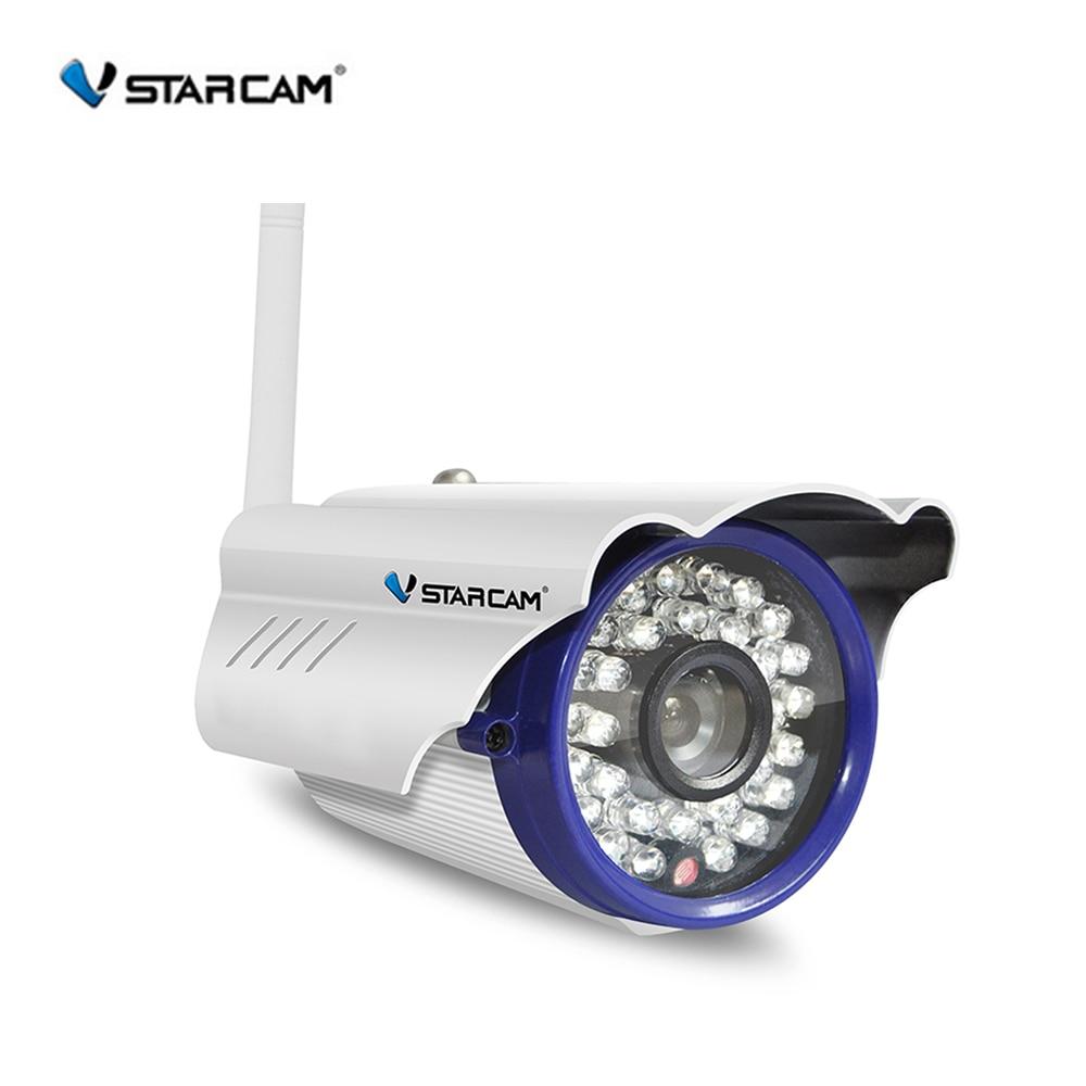 Vstarcam Cámara WiFi al aire libre 1.0MP Megapixel HD CCTV inalámbrico Bullet IP Cámara sistema de seguridad vigilancia hogar C7815WIP