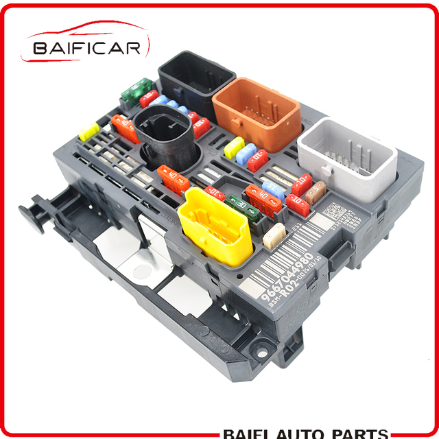 US $129 0 |Baificar Brand New Genuine BSI Under Bonnet Fuse Box BSM R02  9667044980 REF1847 For Peugeot 3008 407 Citroen C5 C4 PICCASO-in Fuses from