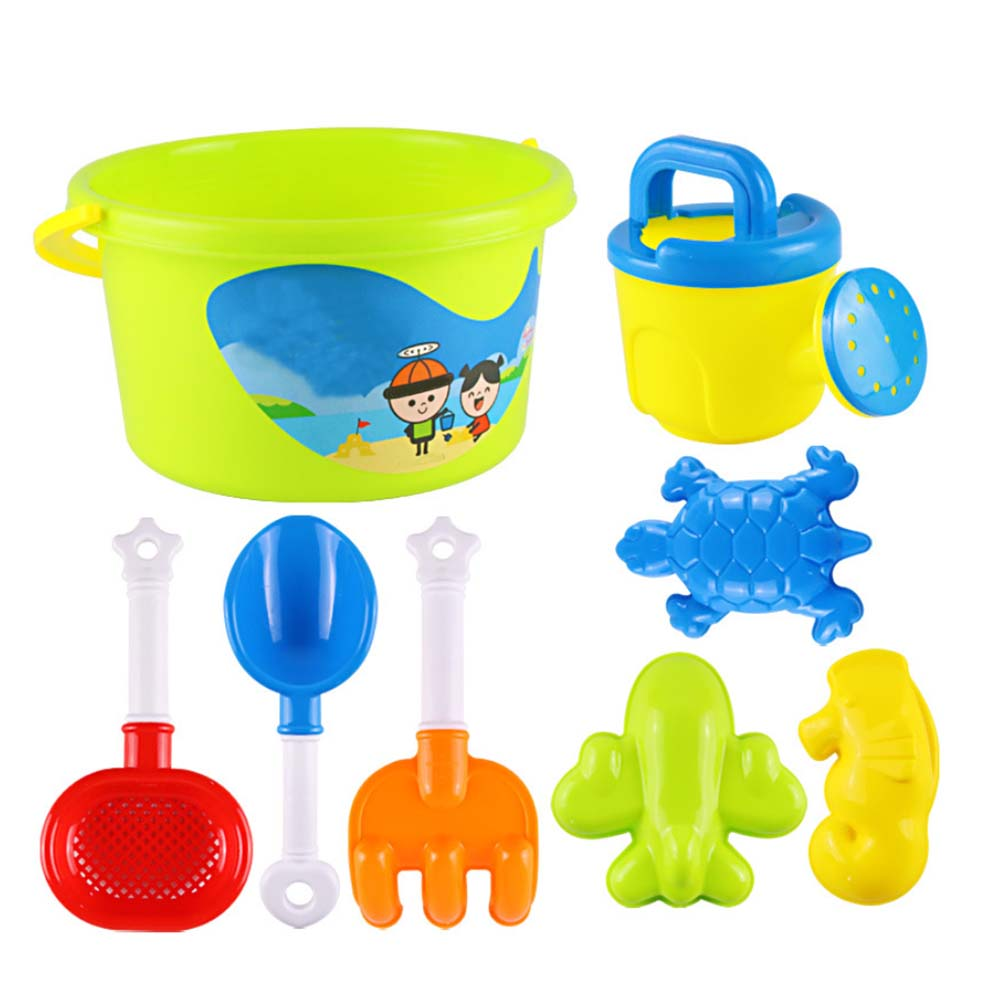 13Pcs/Set  Castle Bucket Spade Shovel Rake Water Tools Summer Kids Sand Beach Toys Set For Kids Toys Fun Shovel Molds