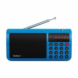 Image 3 - Rolton t50 휴대용 세계 밴드 fm/mw/sw 스테레오 라디오 스피커 mp3 음악 플레이어 sd/tf 카드 pc 아이팟 전화