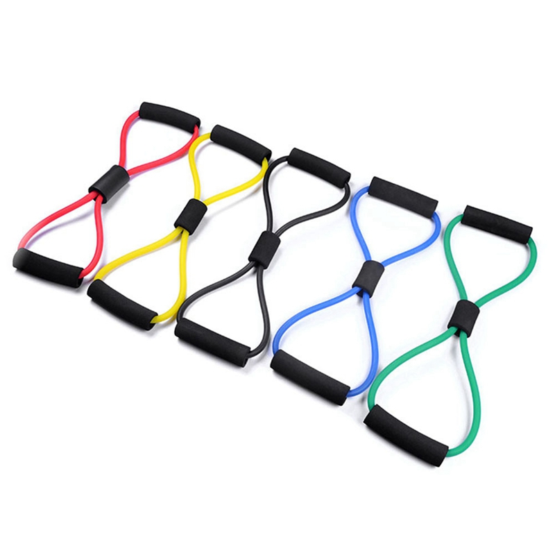 Traditional & Cultural Wear Fitness Equipments Nice Rope Sports Rubber Harness Expander Band Yoga Pilates Fitness Shaped Fitness Elastic Band Tension Chest Bands Loop Pull