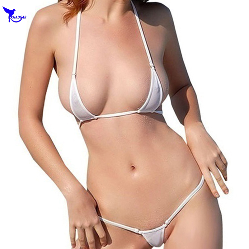 1c92186a3c3 Mini Biquini 2019 Sexy Exotic Micro G-String Bikini Set Extreme Thong  Swimwear Beach Sunbath Costume Sex Bathing Suit Lingeries