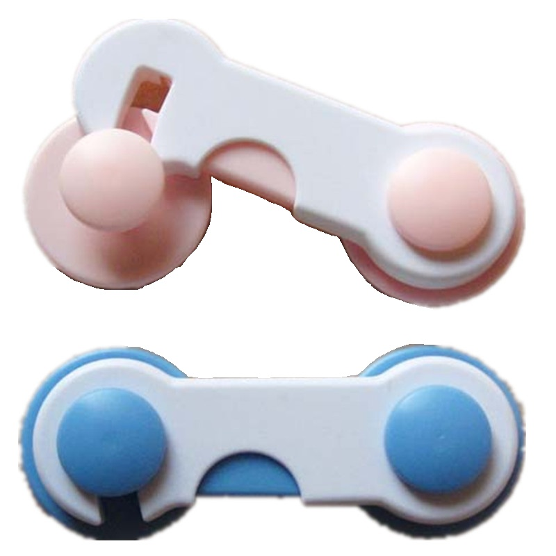 Hooyi Baby Cabinet Locks 2 Colors Available Kid Safety Drawer Cupboard Door Desk Locks P ...