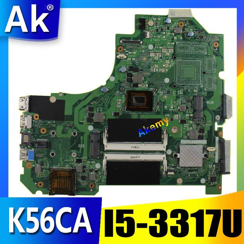AK K56CA Laptop motherboard for ASUS K56CA K56CM K56CB K56C K56 S550CA Test original motherboard I5-3317U/3337UAK K56CA Laptop motherboard for ASUS K56CA K56CM K56CB K56C K56 S550CA Test original motherboard I5-3317U/3337U