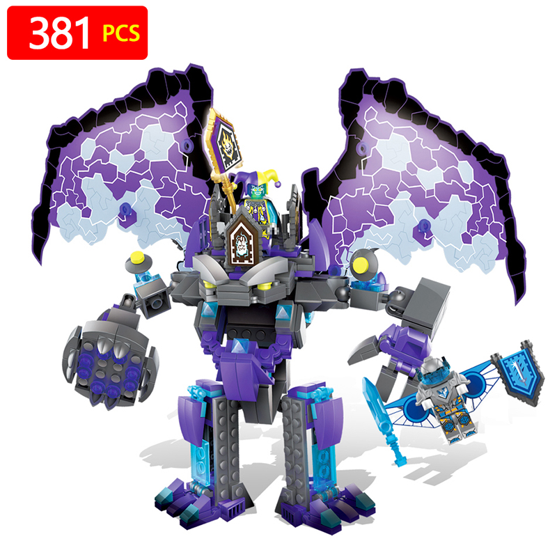 NEXO KNIGHTS Series The Stone Colossus of Ultimate Destruction Model Building Blocks Compatible LegoINGLY Toys for Children krakatau – the destruction