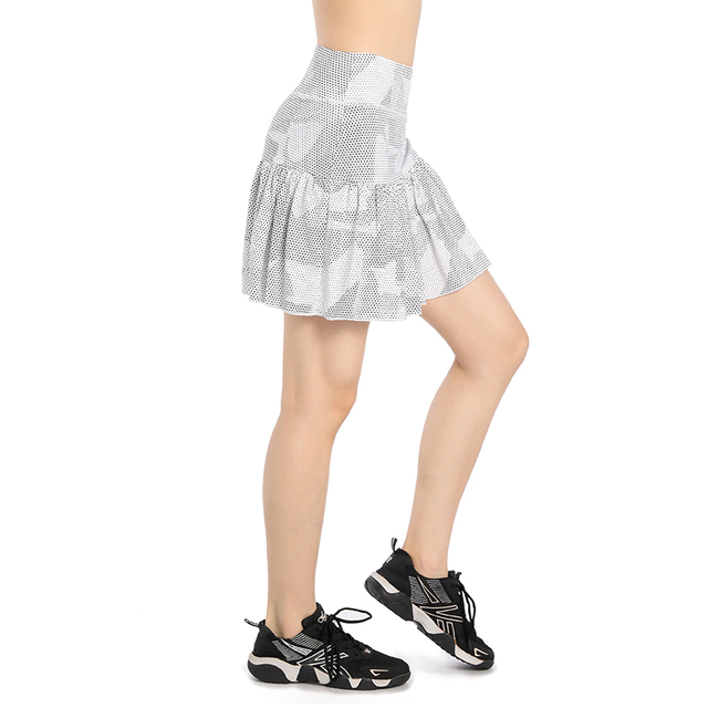 EAST HONG Women's Tennis Running Skirts Badminton Shorts Skirts
