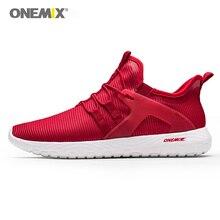 Onemix новые женские Беговые суперлегкие кроссовки эластичные мягкие спортивные туфли для девочек спортивные кроссовки для женщин фитнес сетка дышащая