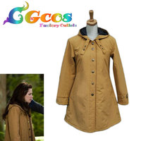 CGCOS Free Shipping Cosplay Costume Twilight New Moon Bella Swan Tan Hot Movie Anime Halloween Christmas