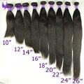 6А Бразильские Волосы Ткать Пучки 4 Пучки Бразильские Прямо Yongtai Волосы Необработанные Виргинский Бразильский Прямые Наращивание Волос
