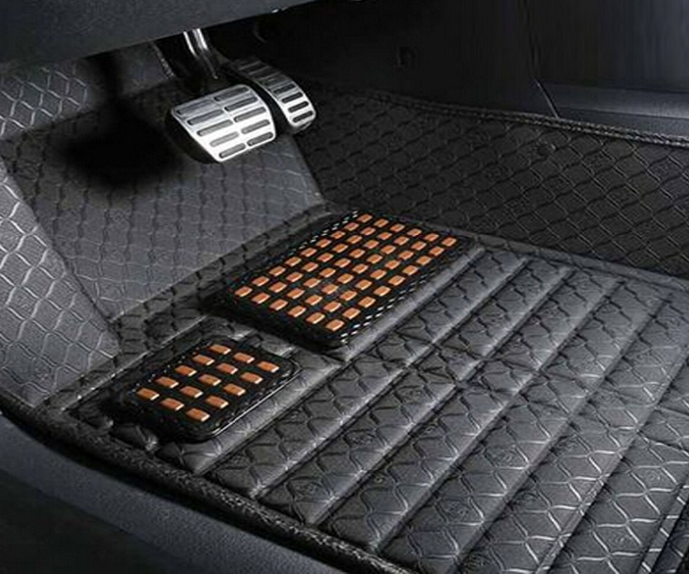 Floor mats x5 2015 - Car Styling 5d Embossed Pattern 4 Colour Eva Pvc Material Indention Special For Jeep Compass