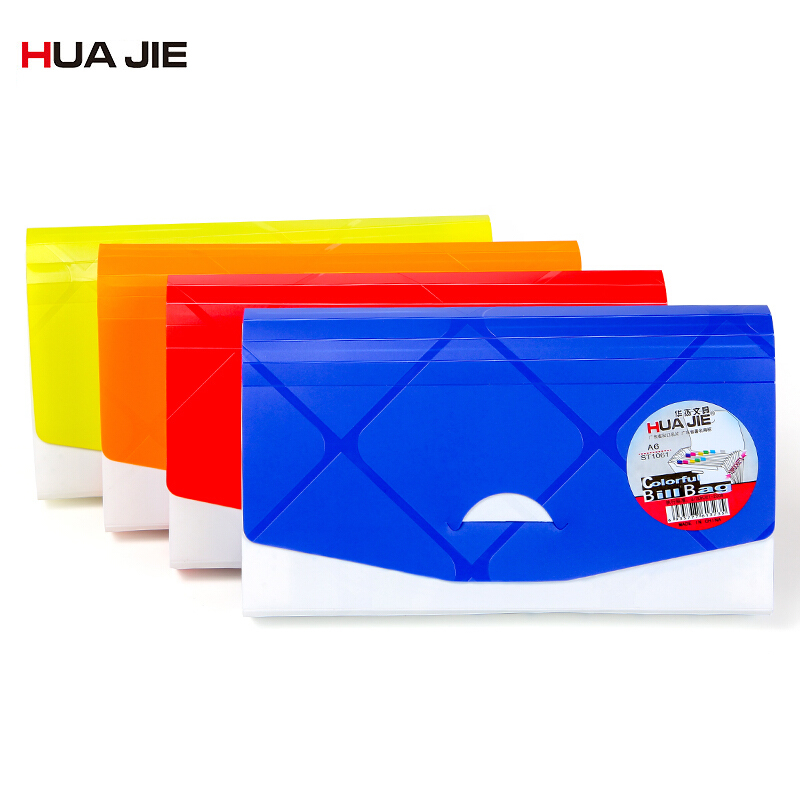 Expanding Wallet A6/B6 Mini Bill Receipt File Bag Document Bag Pouch Folder Paper Organizer File Holder Office Supplies ST1061