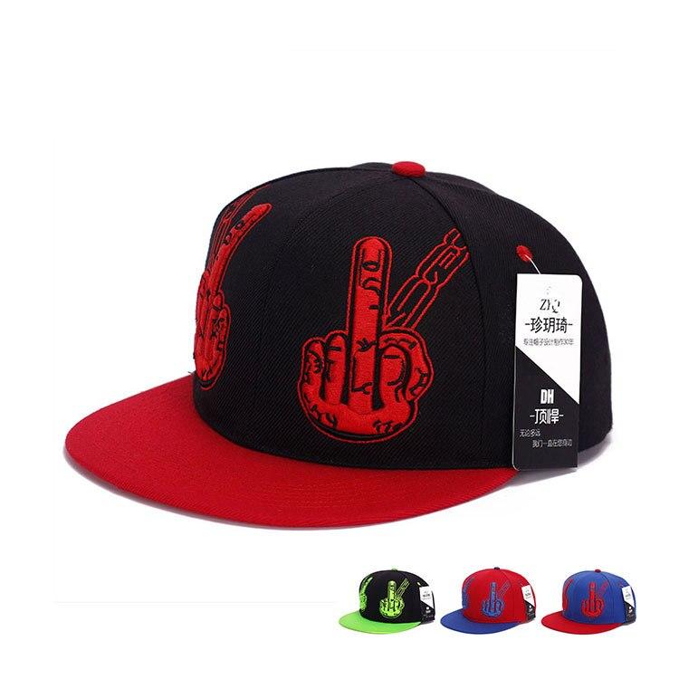 New Fashion Finger Embroidery Hip Hop hats Retro cotton Baseball Caps Chapeu Gorras planas Casquette Outdoor sports golf hats