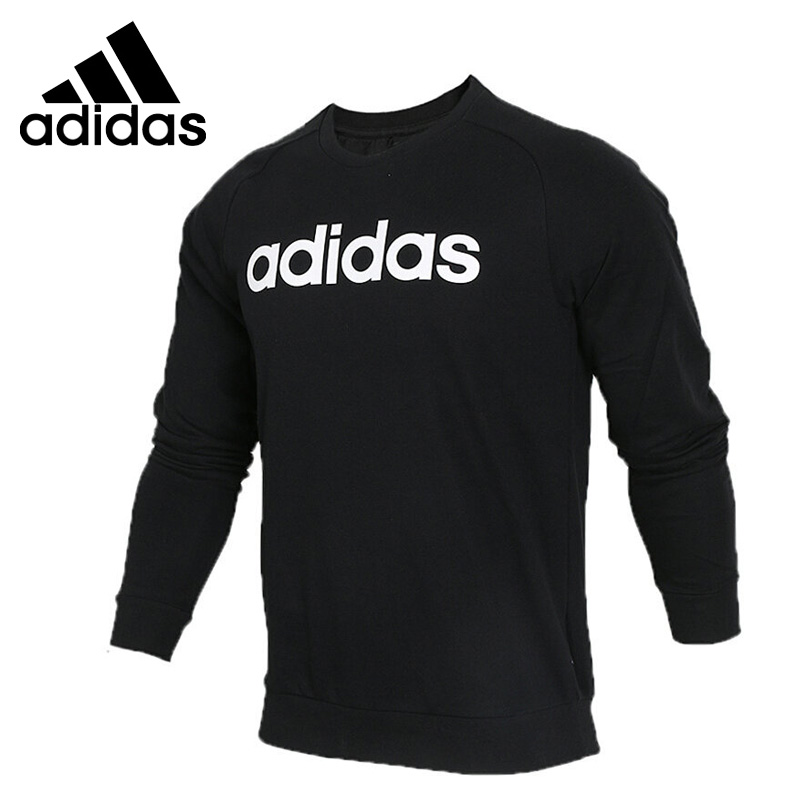 Original New Arrival 2018 Adidas NEO Label M CE SWEATSHIRT Men's Pullover Jerseys Sportswear button pullover graphic sweatshirt