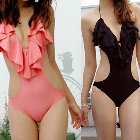 Fashion New Ladies Sexy Padded Monokini One Piece Swimwear Swimsuit Bathers Swim Suit AU10/12