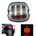 Светодиодный задний фонарь для мотоцикла Harley Sportster Fatboy Heritage Softail XL FLHR FLHRCI FXD задний стоп-светильник