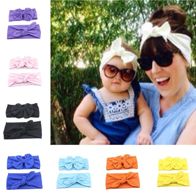 8fb1d60ff Retail Mommy and Me Cotton Turban Head Wrap Set Girl Hair ...