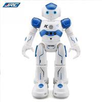 JJR/C R2 USB de Carregamento Dança Robô de Brinquedo RC Controle Gesto Azul Rosa para As Crianças Crianças Presente de Aniversário Presente