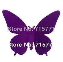 New Home Decoration 90 pcs ebay Hotsale 3D art butterflies wall stickers butterfly decoration DIY home decor wedding