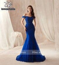 b90c663a8aba6 Popular Sexy Long Royal Blue Trumpet Mermaid Dress-Buy Cheap Sexy ...
