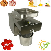 Full Automatic Small Home Use Oil Press Machines Peanut Sesame Soybean Sunflower Seeds Oil Pressing