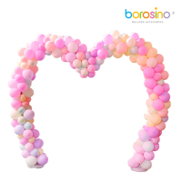 Free shipping for borosino B456 wedding Heart Arch used for wedding festival outdoor decoration balloon love shelf 1PCS