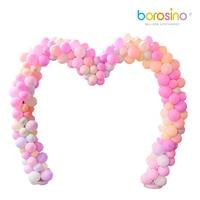 Free shipping for borosino B456 wedding Heart Arch used for wedding festival outdoor decoration balloon love shelf 1PCS