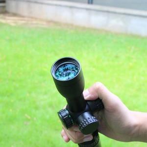 Image 3 - 1.5 5x32 Riflescope Hunting Optics Rifle Hunting Red/Green Illuminated Scope Hunting Outdoor Dot Rifle Scope Sight F9142