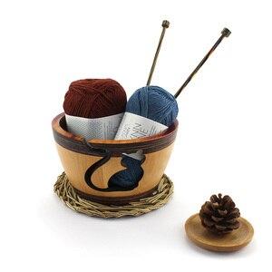 Image 4 - Recipiente de lana de loto para tejer