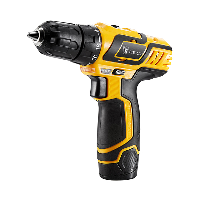 Electric Drill 10.8V DC New Design Household Lithium-Ion Battery Mini Cordless Drill/Driver Power Tools