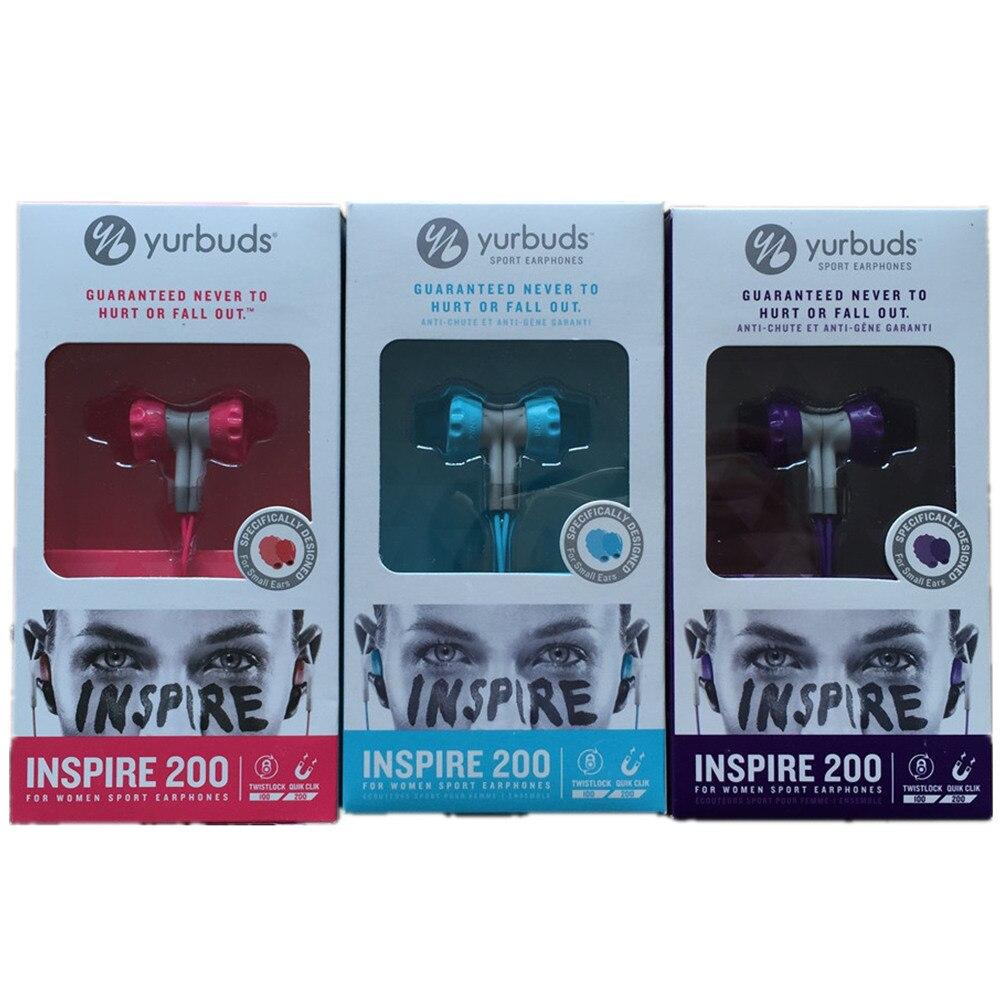 Yurbuds Inspire 200 Women Sweat Proof TwistLock Sport Earphones
