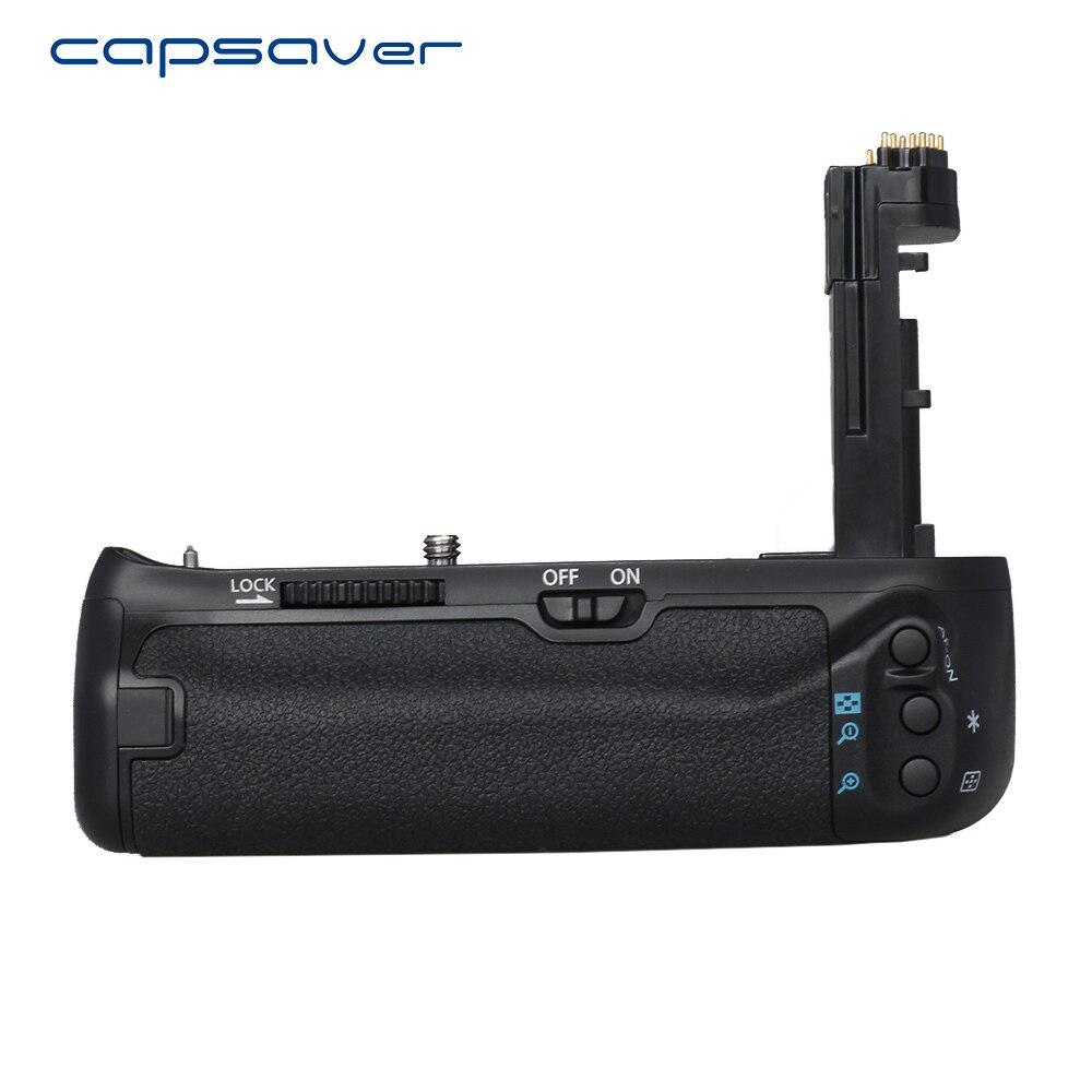 Capsaver poignée de batterie verticale pour Canon 7D Mark II 7D2 7D II caméra remplacer BG-E16 support de batterie multi-puissance travail avec LE-E6