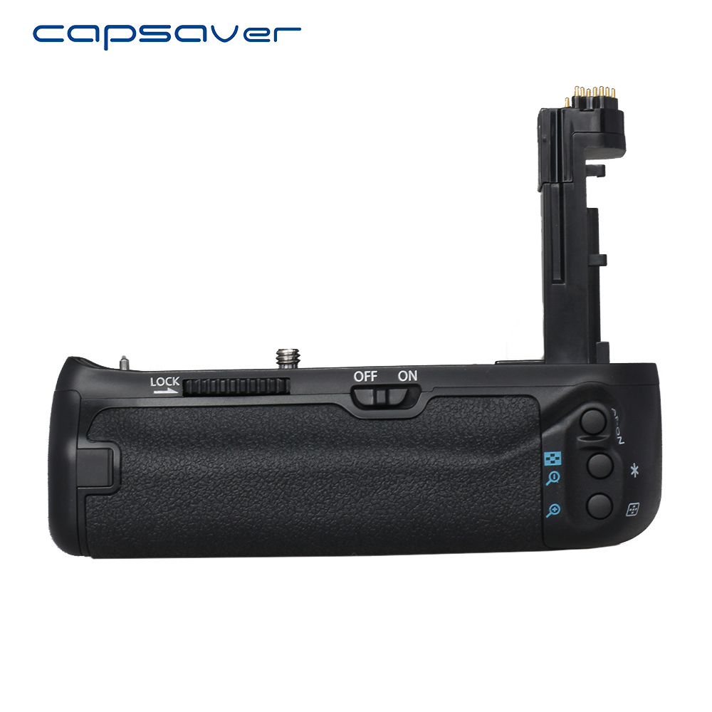capsaver Vertical Battery Grip per Canon 7D Mark II 7D2 7D II Fotocamera Sostituisci BG-E16 Multi Battery Battery Holder con LE-E6