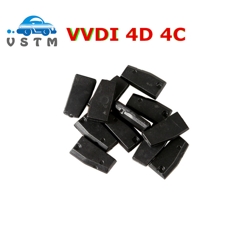 NEW 10pcs lot IC 4D 4C Copy Chip for XHORSE VVDI Key Tool of Car Key