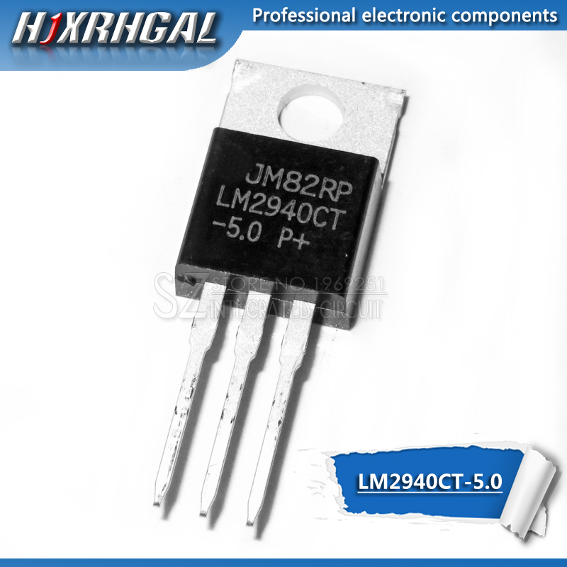 Free shipping 10pcs/lot LM2940CT-5.0 LM2940CT LM2940 TO-220 Regulator new original image