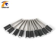 цена на 5pcs/lot Sandpaper shank for Dremel Rotary tools Dremel Rotary tools Drum sander for dremel tools dremel