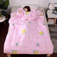 Зимнее одеяло, Осеннее «ленивое» одеяло с рукавами, семейное одеяло, накидка, накидка, спальное одеяло, покрытое одеяло для общежития