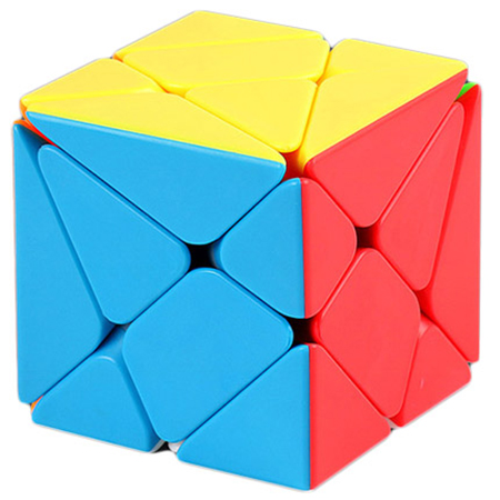 Axis Cube Moyu Mofangjiaoshi Stickerless Fluctuation Jin'gang Magic Cube Axis Speed Puzzle Educational Toys For Kids Children