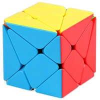 Eixo cubo moyu mofangjiaoshi stickerless flutuação jingang gang cubo mágico eixo velocidade quebra-cabeça brinquedos educativos para crianças