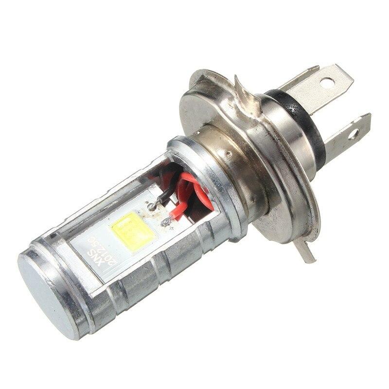 1 шт. 12 Вт H4 мотоциклетные лампы светодиодные лампы Hi/Lo луч Фары для автомобиля налобный фонарь передний свет лампы 6000 -6500 К 1200lm ...