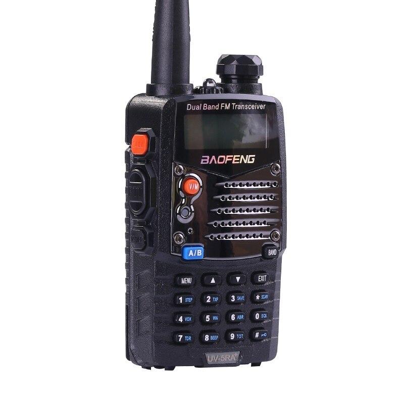 Купить с кэшбэком (4 PCS)Baofeng UV5RA Ham Two Way Radio Walkie Talkie Dual-Band Transceiver (Black)