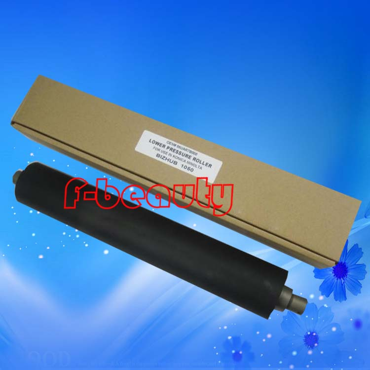 ФОТО High Quality New Lower Fuser Roller For Konica Minolta BH1050  1050 1050E 56UAR7B000 Lower Roller