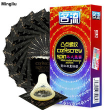 Mingliu 10pcs lot Condom ultra thin oil toughnes Condoms for men Adult toys Sexual products Condones