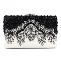 NEW Luxury Crystal Rhinestone Evening Bags for Women Party Wedding Clutches Beaded Clutch Purse Crossbody Bag Elegant