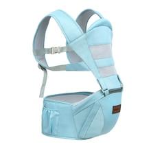 цены Baby Sling Waist Stool Breathable Four Seasons Multi-Function Front Cross-Holding Child Children Hold Baby Babies Single Seat
