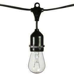 Винтажные лампы Эдисона 11 Вт, 48 футов, Светильники для бистро, водонепроницаемые, наружные лампы накаливания