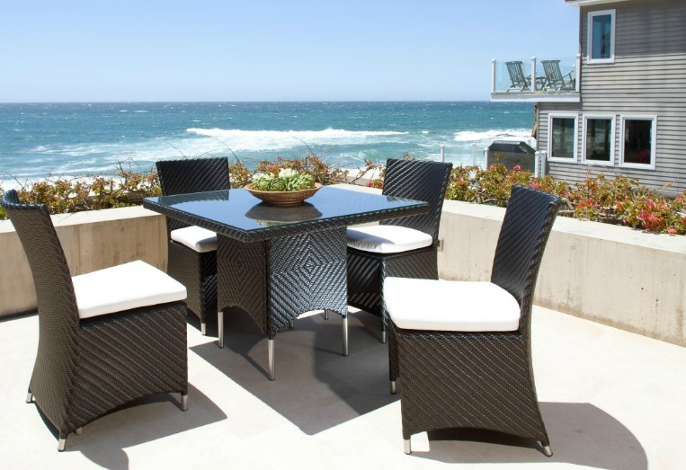 sigma outdoor resaurant furniture patio dining sets 4 seater table chairs sets