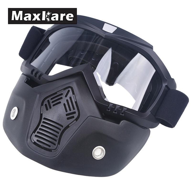 Лыжный шлем маска Анти-туман холодной загрязнения крышка беговых мотоцикл Защита для глаз протектор козырек зима